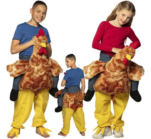 Instap kostuum kip voor kinderen