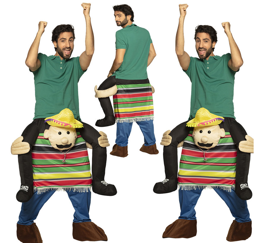 Instap kostuum Mexicaan poncho