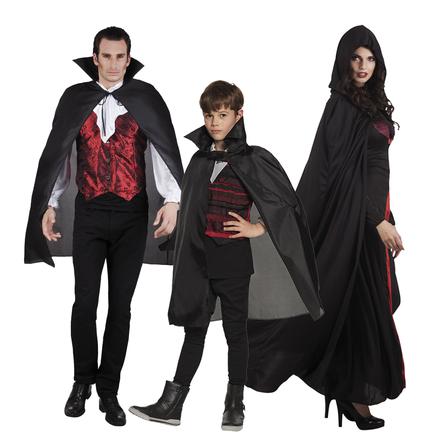Halloween cape  voor dames, heren en kinderen