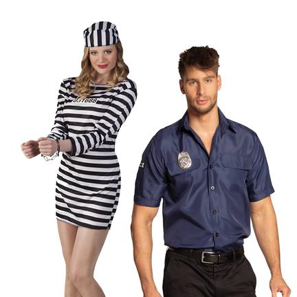 Politie en boeven kostuumsa