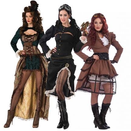 steampunk kleding dames kopen