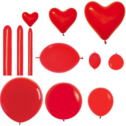Latex rode ballonnen kopen