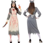 Zombie zuster kostuum