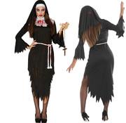 Nonnen kostuum zombie