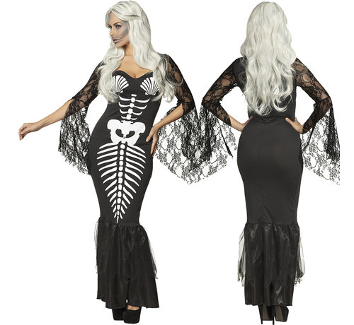 Halloween zeemeermin dames jurk