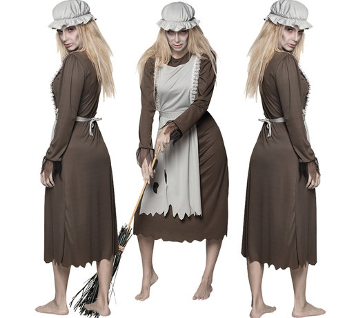 Halloween Serveerster Horror jurk