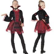 Meisjes vampier kostuum Empress