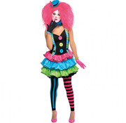 meisje Clown outfit