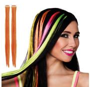 Hair extension oranje