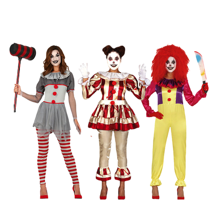 Horror clown pak dames