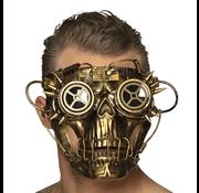 Steampunk skull masker