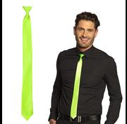 Stropdas neon groen