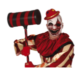 Killer clown nep wapens