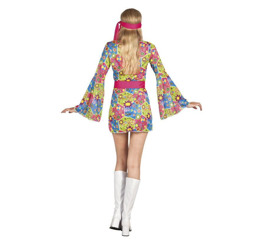 Flower power kleding voor dames