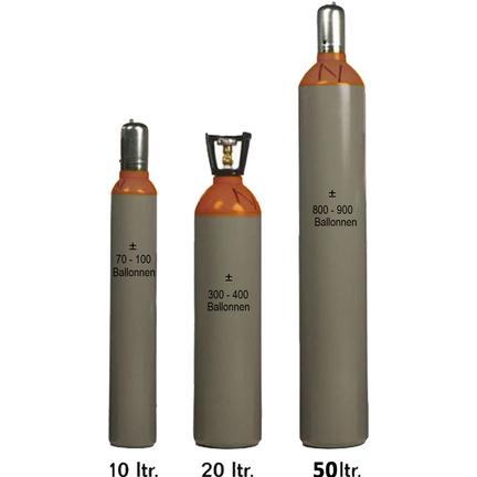 Heliumtank verhuur online bestellen