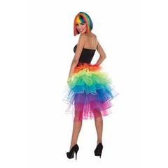 Regenboog petticoat