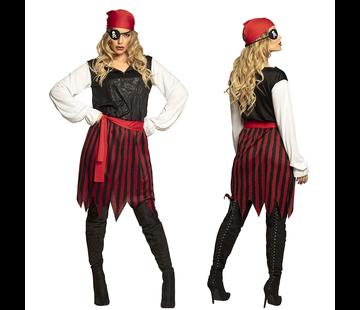 Piraat dames kostuum