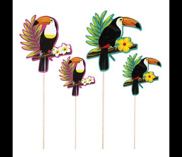 Cocktailprikkers Toucan