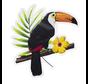Muur Decoratie Toucan vogel kopen