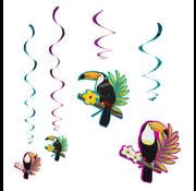 Decoratieswirls Toucan