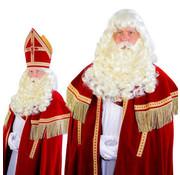 Sinterklaas Baardstel met losse snor