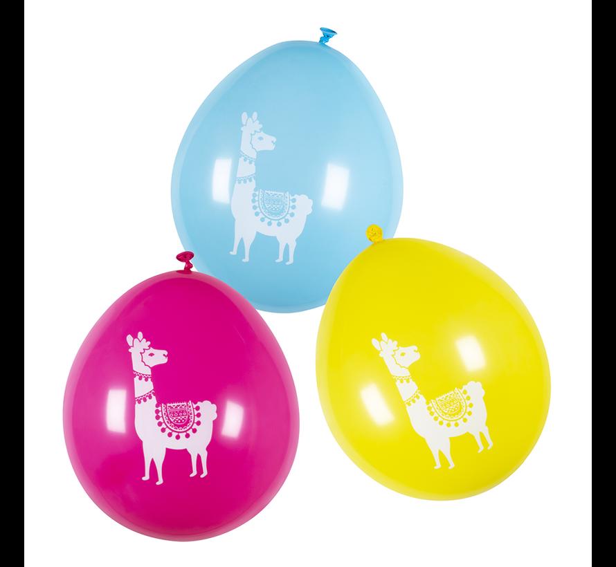 Mexicaanse latex ballonnen lama