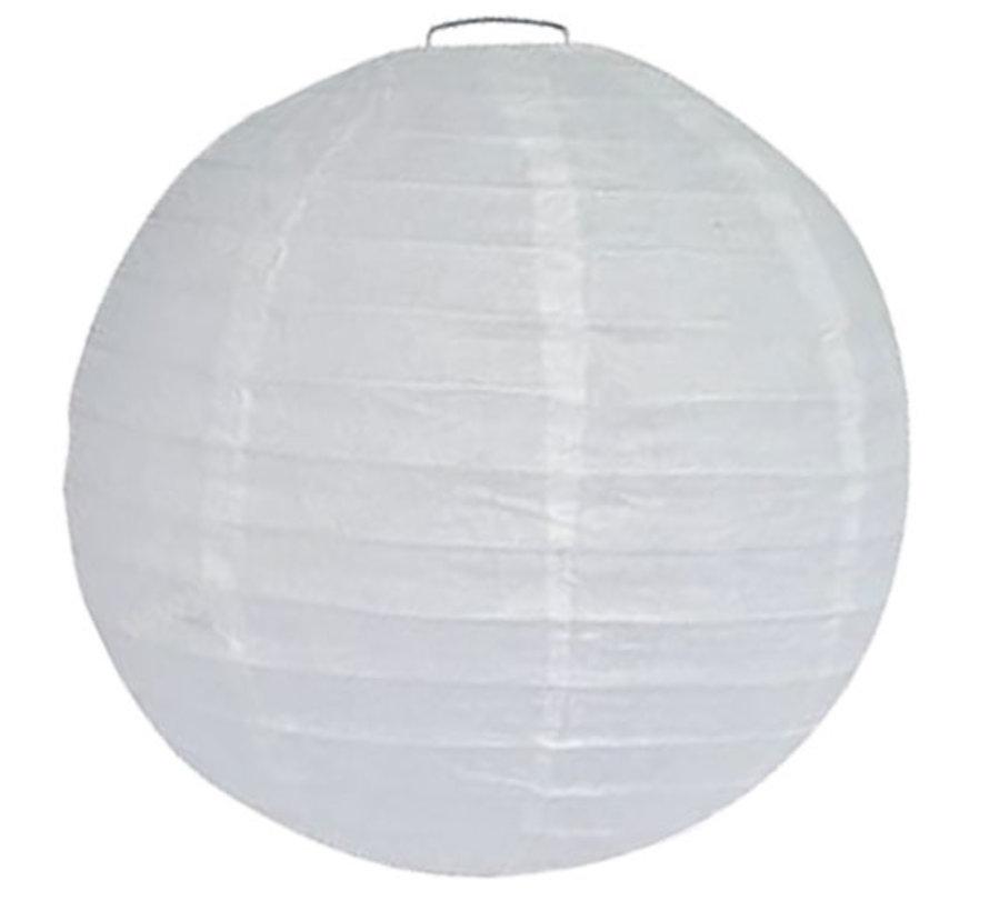 Grote witte lampionnen voor buiten