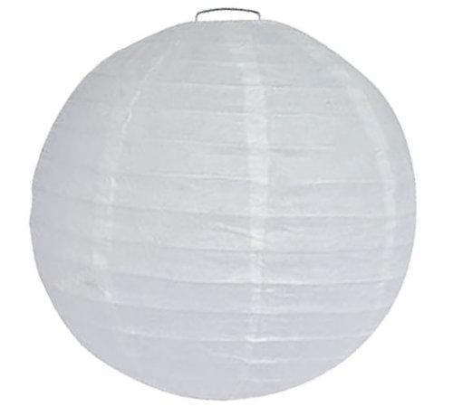 Witte lampionnen voor buiten