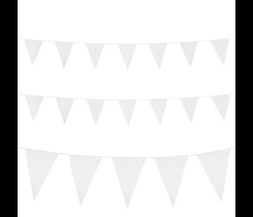 Grote vlaggenlijn wit