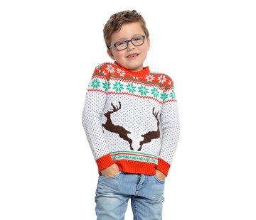 Foute kersttrui rendier kinderen