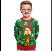 Foute kersttrui kinderen groen