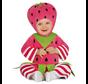 Aardbei kostuum baby en peuters