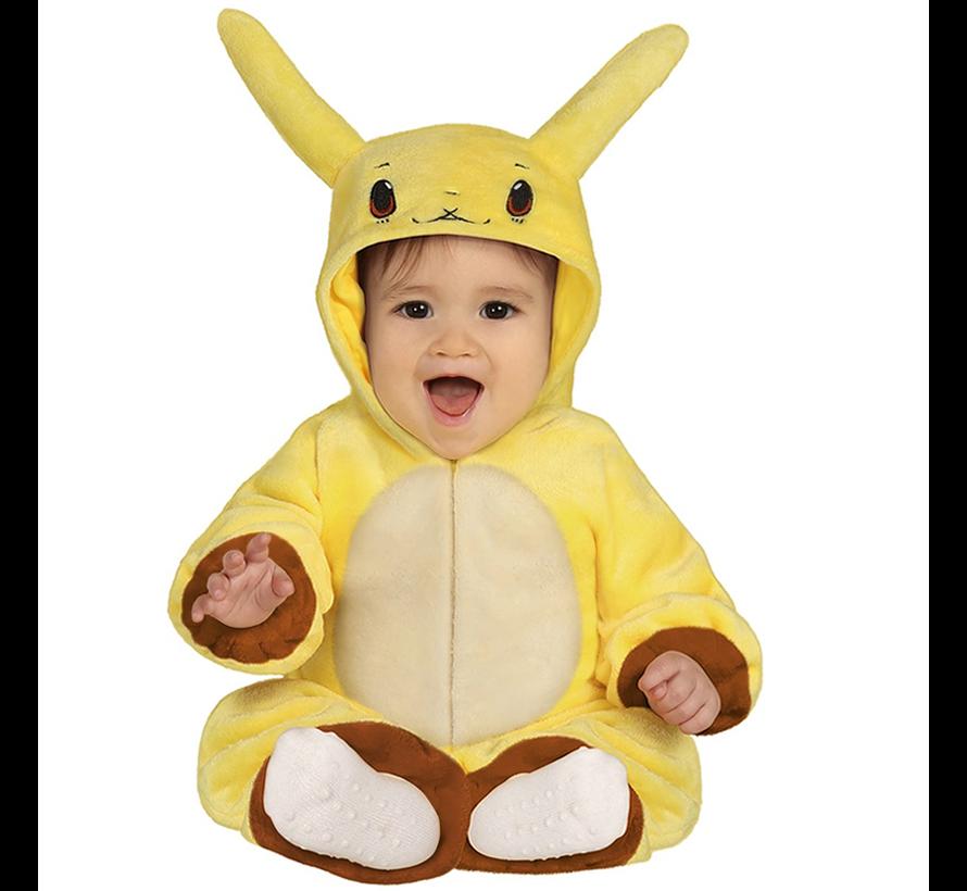 Gele Pokemon  baby kleding