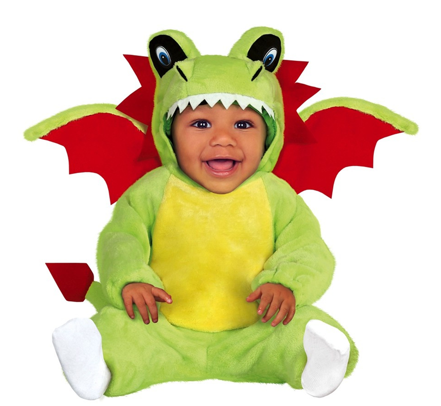 Onesie Drakenpak baby en peuters