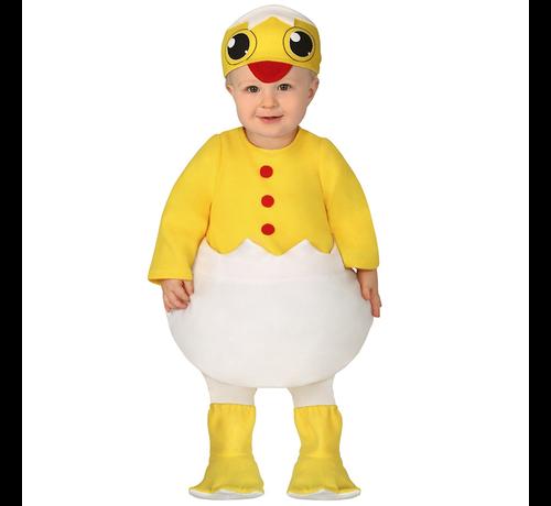 Eenden pak baby carnavalskleding