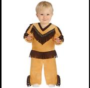 Indianen kostuum baby