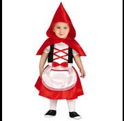 Baby roodkapje kostuum