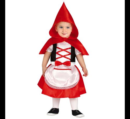 Baby roodkapje kostuum kind