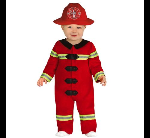 Brandweer kostuum baby kopen