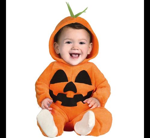 Halloween kostuum baby pompoen