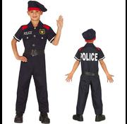 Politie verkleedset kind