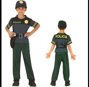 Verkleedkleding kind politie