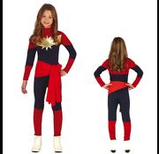 Captain marvel kostuum kind