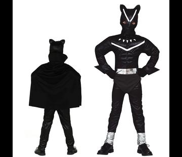 Zwarte panter kostuum kind