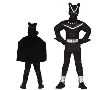 Zwarte panter kostuum