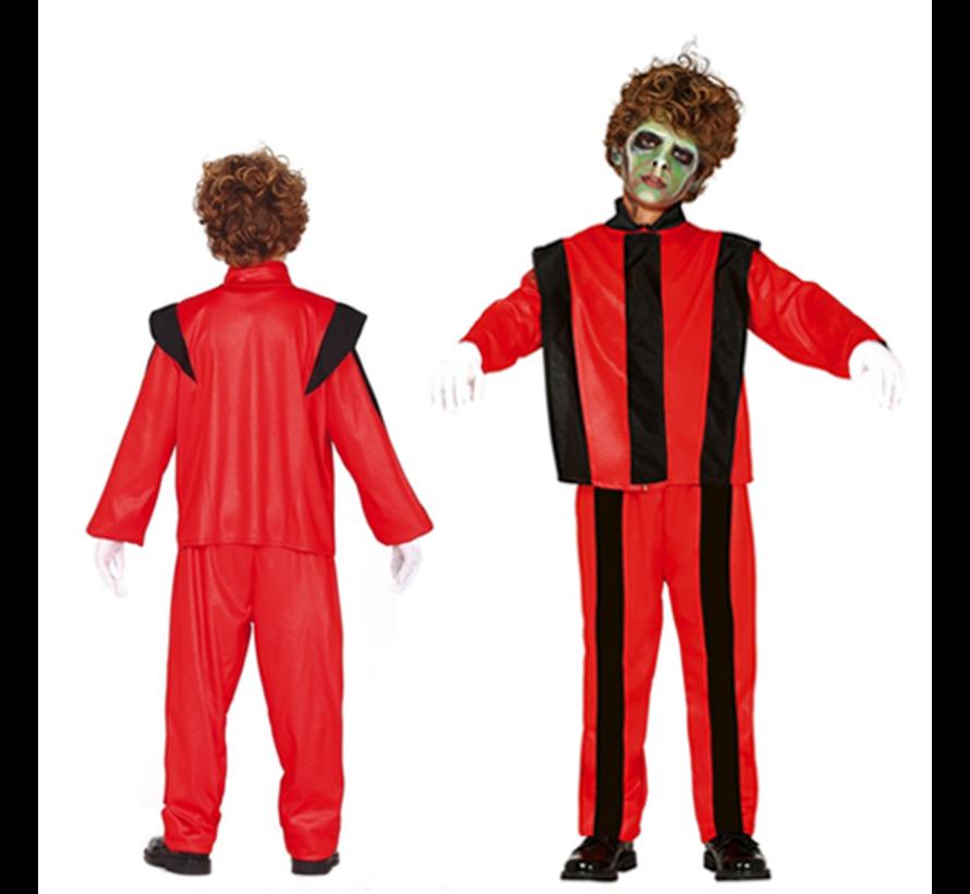 Jackson Thriller kostuum kind