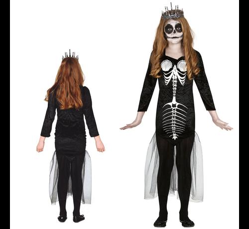 Skelet zeemeermin pak kind