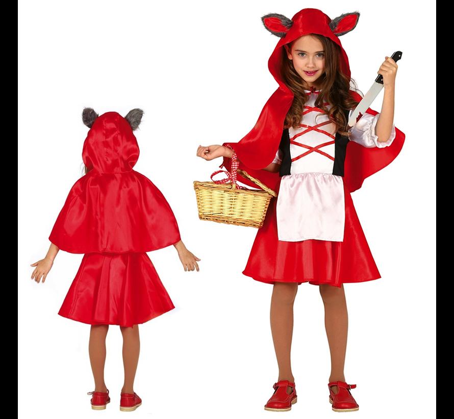 Horror roodkapje kostuum kind