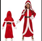 Kerst mantel kind