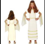 Romeins kostuum meisje